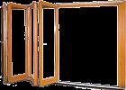 Складывающиеся двери гармошка FS портал