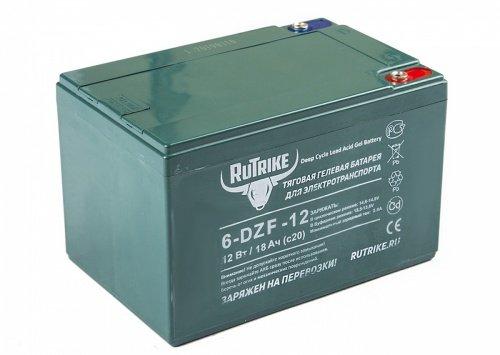 Тяговый гелевый аккумулятор RuTrike 6-DZF