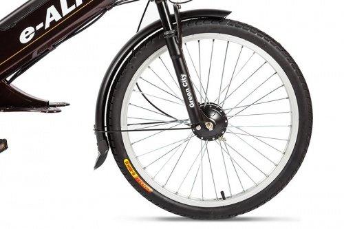 Велогибрид Eltreco e-ALFA фото 2