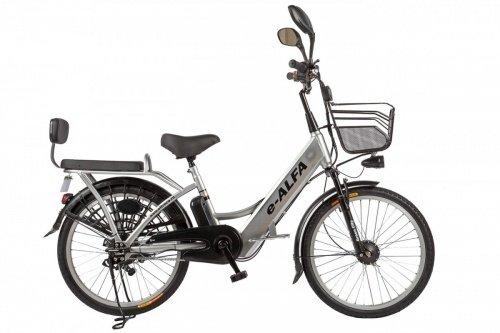 Велогибрид Eltreco e-ALFA фото 3