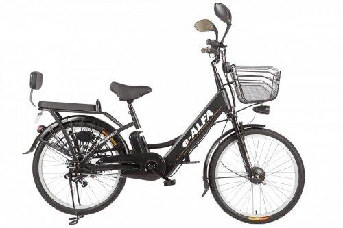 Велогибрид Eltreco e-ALFA фото 4