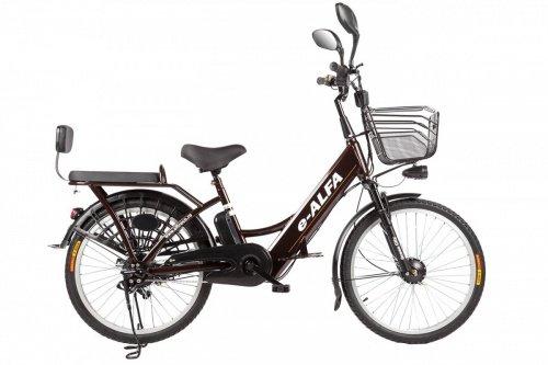 Велогибрид Eltreco e-ALFA фото 19